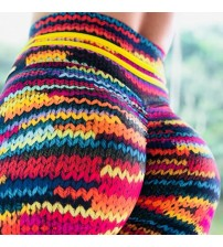 Knit Printing Leggings