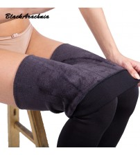 High Elastic Waist Warm Pants