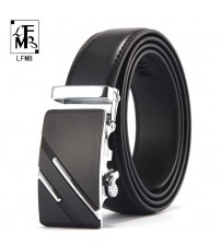 Leather Belts Automatic Buckle