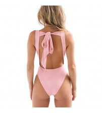 Bodysuit Women Sleeveless Play-suit Backless