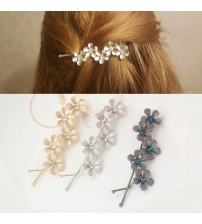 Flower Rhinestone Women Hair Accessories