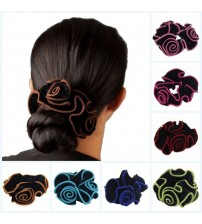 Flower Hair Scrunchies Headwear
