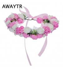 Bezel Flowers Accessories Floral Headband