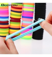 20pcs/lot Candy Fluorescence Colored Hair Holders