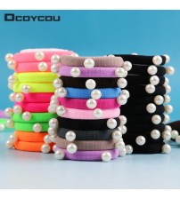 10 PCS/lot Candy Fluorescence Colored Hair Holders