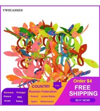 50pcs/lot Scrunchy Mini Elastic Hair Band