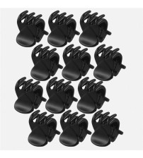 12 pcs/sets Women Crab Hair Claw Clip