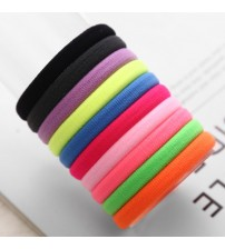 Candy Colored Elastic Ponytail Holders