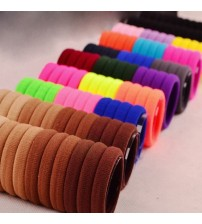 100Pcs Girls Headwear Elastic Hair Bands