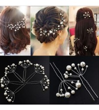5Pcs Simulate Pearl Hairpins Hairstyles