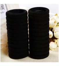 30Pcs Hairdressing Tools Black Rubber Band