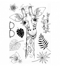 Giraffe stamp Clear Stamp for Scrapbooking Transparent Silicone Rubber DIY Photo Album Decor 661