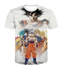 Dragon Ball Z Super Saiyan  Goku Vegeta T-shirt
