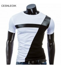 Man Casual T-shirt Men Cotton T Shirt Military Men