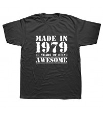 40th Birthday T-Shirt Gifts