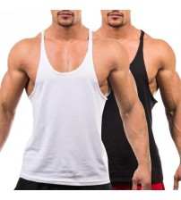 Bodybuilding Stringers Tank Tops Workout Singlet Sleeveless Tee Wholesale