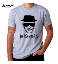 Breaking Bad Heisenberg Funny Men T Shirt High Quality Cotton O-Neck