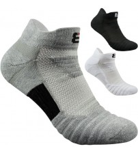 2pairs/lot men socks terry bottom sports basketball running outdoors towel skarpetki chaussettes Cotton ankle Short socks corap