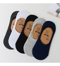 1 Pair New Fashion Loafer Socks Women Non-Slip Cotton Invisible Socks Men Casual Dunk Low Cut No Show Socks