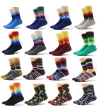 1Pair Fashion Men's Sock Winter Warm Male Crew Socks Meias Masculinas Men Dress Socks for Men Compression Socks Funny Chaussette