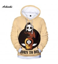 2018 new Funny 3D Hoodies Anime South Park Men Women Sweatshirt Fashion Brand New Casual Slim Fit Mens Hoodies Cute Top Clothes