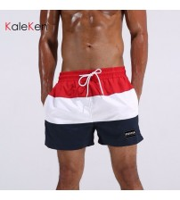 2018 Brand new mens striped Boardshorts Quick Drying Beachshorts Bottoms Casual shorts small boxer shorts for men