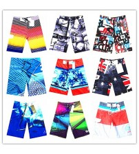 2019 Brand Fashion Board Shorts Men 100% Quick Dry Sexy Men's Boardshorts Bermuda Gay Male Swimwear Beach Shorts Plus Size S-XXL