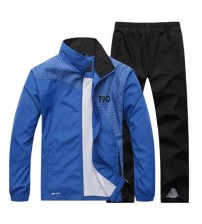 Loldeal Men Quick Dry Sports Suits Loose Tracksuits Winter Autumn Fitness Running suits Set Warm Jogging Tracksuit