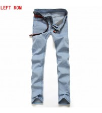 2017 Men's Jeans Utr Light Thin Fashion Brand Jeans Large sales of Spring Summer Jeans Fashion Slim Jeans men's trousers