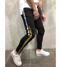 2018 new Fashion Streetwear Men's Jeans Vintage black Color Skinny male Destroyed Ripped Jeans Broken Homme Hip Hop denim pants