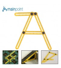 Mainpoint Folding Feet Adjustable Four-sided Ruler All Angle Accurate Measuring Instrument Builders Handymen Engineer