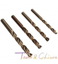 0.8 0.9 1 1.1 1.2 1.3 1.4 1.5 1.6 1.7 1.8 1.9 mm HSS-CO M35 Cobalt Steel Straight Shank Twist Drill Bits For Stainless Steel
