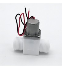 G1/2 inch miniature Induction sanitary ware bistable water control pulse solenoid valve, energy saving valve