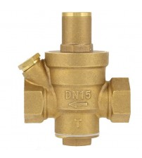 "1 Pcs DN15 1/2"" Brass Water Pressure Reducing Regulator Valve Adjustable Thread Water Pressure Reducing Valve"