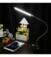 10W reading lamp LED Clamp Clip Light Table 36 LEDs 10-level Brightness Adjustable 3 Lighting Colors USB led Reading Lamp table