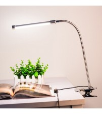 10W 36 LEDs 10-level Dimmable Eye Protection Adjustable Clamp Clip Light Table Desk Reading Lamp 3 Lighting Colors USB Powered