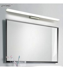 led mirror light stainless steel AC85-265V Modern Wall lamp bathroom lights 40cm 60cm 80cm 100cm 120cm wall sconces apliques
