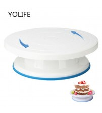 10 inch High quality  Cake Stand Craft Turntable Platform Cupcake Swivel Plate Revolving  Cake Baking Decorating Tools