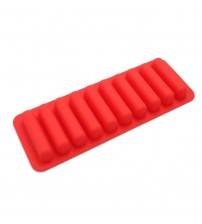 2018 100% Brand New and High Quality durable  Rectangle Bakeware Cookie Candy Pastry Chocolate Finger Bar Silicone Mold psw0716