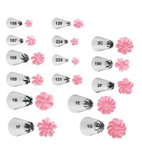 1-Piece Beautiful Flowers Nozzles Piping Tips Frosting Cake Decorating Tip for Kids Baking & Pastry Tools