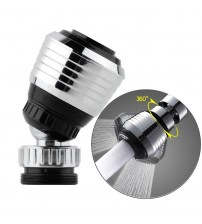 360 degree Revolving Water-saving ABS Water faucet 2 Modes Faucet Aerator 24mm Connector water Tap Aerator for Kitchen