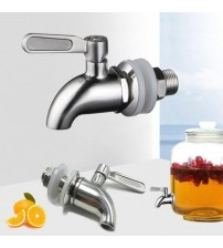 12mm 16mm Drink Dispenser Beverage Wine Barrel Tap Spigot Water Stainless Steel Coffee Juice Faucet