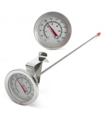 "12"" Thermometer Probe Stainless Steel Homebrew Dial Thermometers for Beer Wine Brewing Kettle Mayitr"