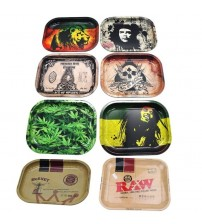 1PC Plate Storage Square Tobacco Rolling Tray Storage Plate Discs for Smoking Weed Herb Grinder Cigarette Container Tray