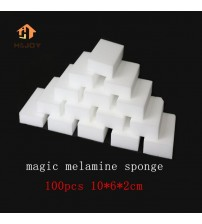 100 Pcs Melamine Sponge Magic Sponge White Eraser For Kitchen Office Bathroom Clean Accessory 100*60*20mm Dish Cleaning Nano