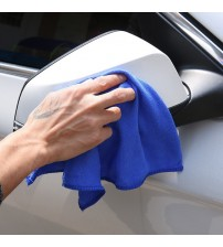 28*28cm Hot Selling!Wholesale Soft Microfiber Cleaning Towel Car Auto Wash Dry Clean Polish Cloth