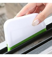 1 Set Recess Groove Cleaning Brush Window Door Gap Dirty Cleaning Scraper Brush Plastic Sill Crevice Cleaner Tool