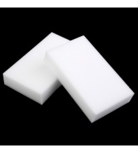 100 pcs/lot Wholesale White Magic Sponge Eraser Melamine Cleaner,multi-functional Cleaning 100x60x10mm