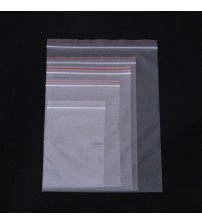 100pcs/pack Small Zip Lock Plastic Bags Reclosable Transparent Jewelry Food Storage Bag Kitchen Package Bag Clear Ziplock Bag