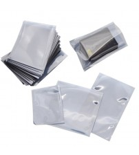 100pcs/Lot Anti Static Shielding Plastic Storage Packaging Bags ESD Anti-Static Pack Bag Open Top Antistatic Package Bag